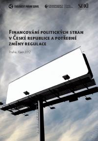 Financování politických stran a potřebné změny regulace