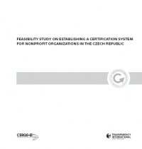 Feasibility Study on Establishing a Certification System for Nonprofit Organizations in the Czech Republic