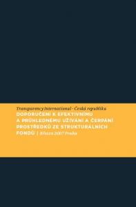 Doporučení k efektivnímu a průhlednému užívání a čerpání prostředků ze strukturálních fondů