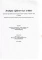 Analýza výběrových kritérií společného regionálního operačního programu České republiky na léta 2004-2006