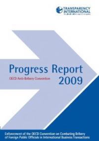 TI 2009 Progress Report on OECD Anti-Bribery Convention
