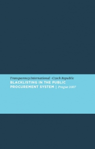 Blacklisting in the Public Procurement System