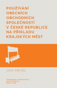 Používání obecních obchodních společností v České republice na příkladu krajských měst