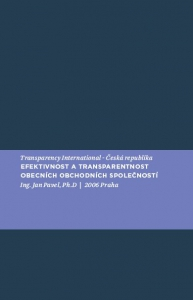 Efektivnost a transparentnost obecních obchodních společností