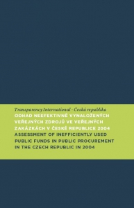 Odhad neefektivně vynaložených veřejných zdrojů ve veřejných zakázkách/Assesment of Inefficiently Used Public Funds in Public Procurements